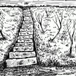 Stairway drawing