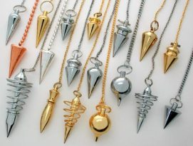 Metal Dowsing Pendulums