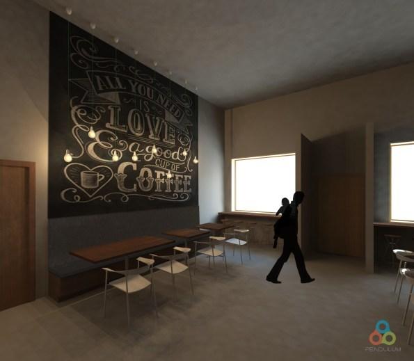 Dining - Chalkboard wall