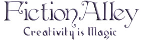 Logo for Fiction Alley