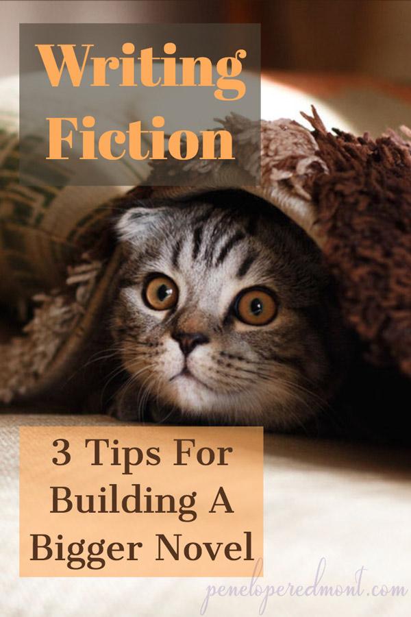 Writing Fiction: 3 Tips For Building A Bigger Novel