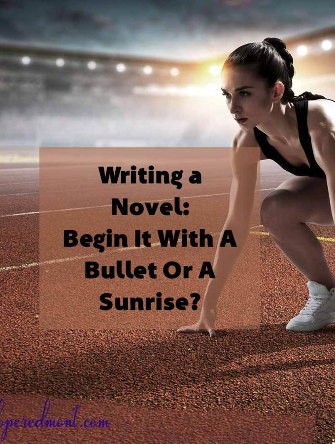 Writing a Novel: Begin It With A Bullet Or A Sunrise?