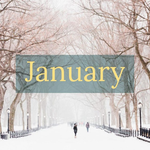 January sayings quotes and Bible verses for encouragement, inspiration, and motivation