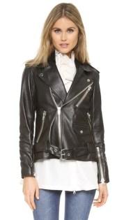 3.1 Phillip Lim - Leather Biker Jacket with Insert $2,378.55