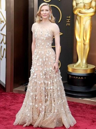 Cate Blanchett Armani Prive Oscars 2014