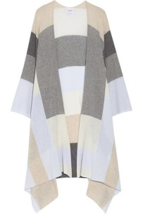 Madeline Thompson - Colour Block Cashmere Wrap $686