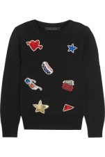 Marc Jacobs - Embellished Merino Wool Sweater $719
