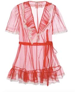 Miu Miu - Tulle Dress $1,455