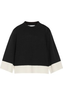 Victoria, Victoria Beckham Cropped Wool and Cashmere-Blend Sweather - $1,075