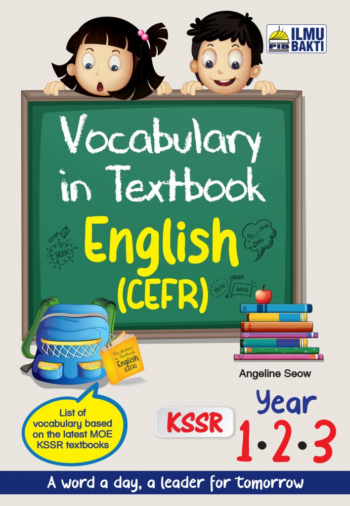 Vocabulary in Textbook English Year 1, 2 & 3