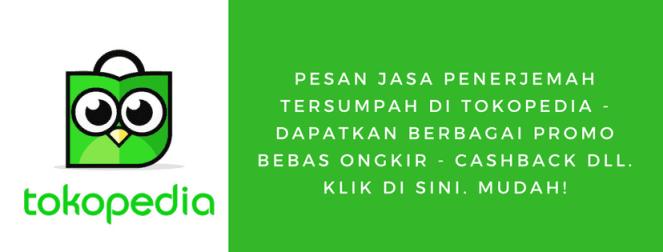Jasa Penerjemah Tokopedolia