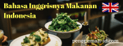 Indonesian Food in English