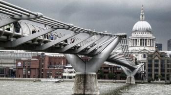 Image result for Millennium Bridge, London