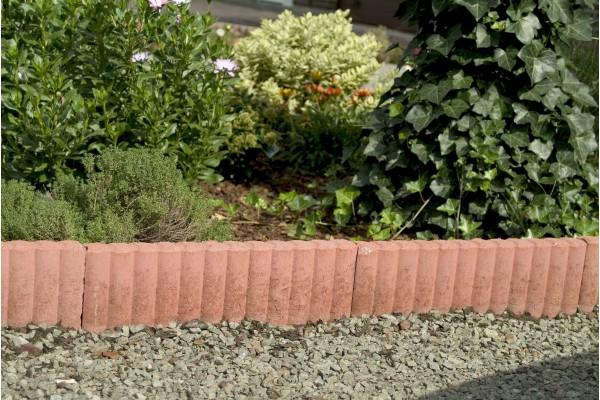 bordure beton rondin bordure jardin