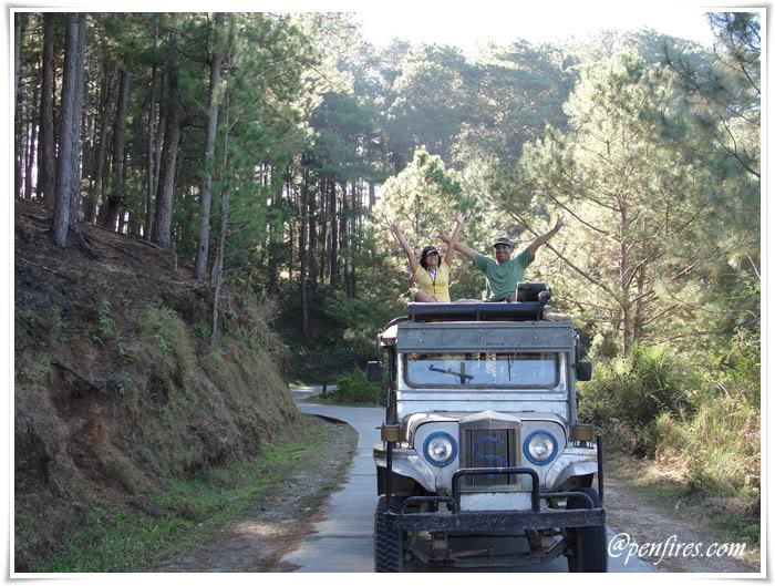 jeep toploading in sagada