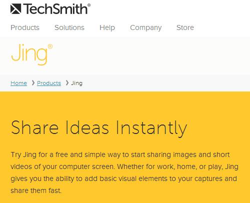 Jing Screencast – FREE Online Screen Capturing Tool for Blogging et. al.