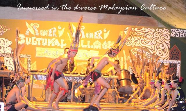 malay dance presentation mari mari village