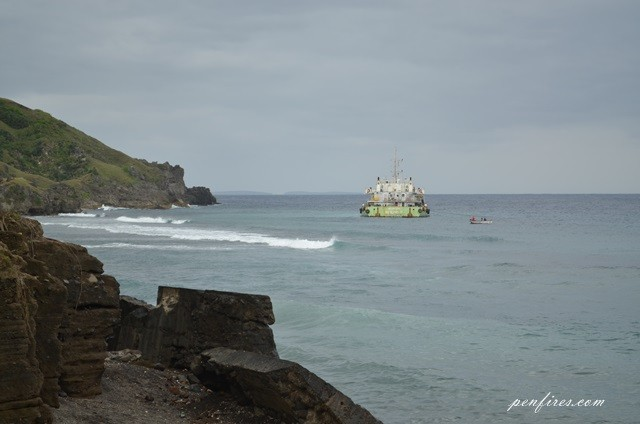 Lessons in Batanes: Ship's Grounded and White Sand Beach