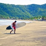 Baler Surfer with Fish Catch