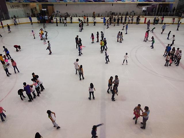 SM MOA Ice Skating Rink Rates