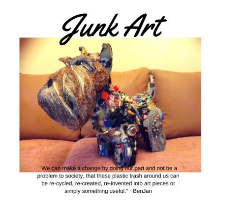 Benjan Junk Art Creation