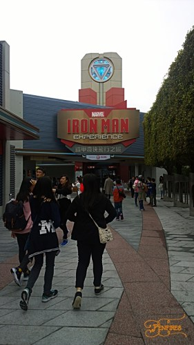 Iron Man Experience in HK Disneyland