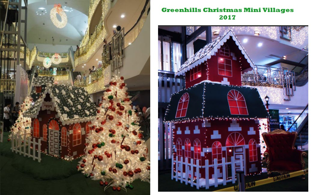 Greenhills Christmas Villages 2017