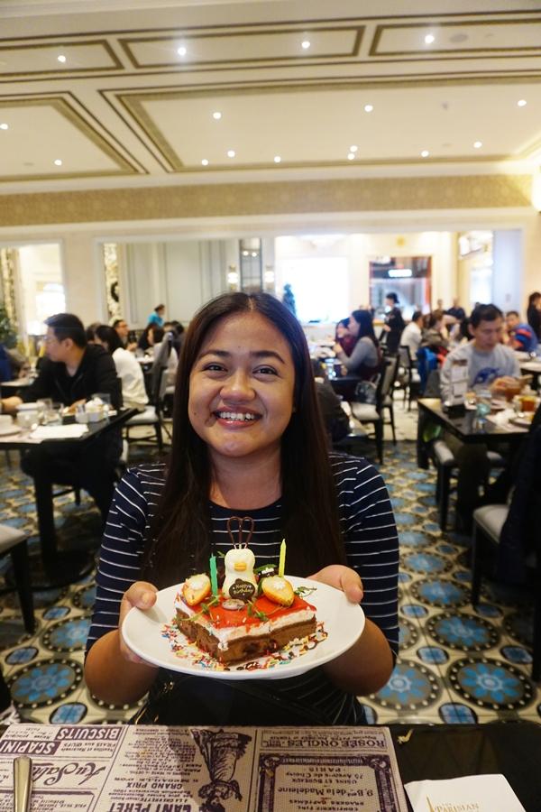 birthday surprise le buffet parisian macao