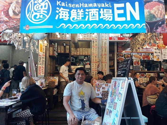 kaisenHamayaki Ameyoko market