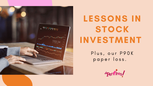 stock investing - paper loss