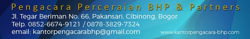 Kantor Pengacara / Advokat dan Konsultan Hukum di Bogor.
