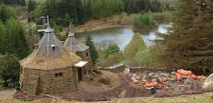 Hagrid Hut di Skotlandia