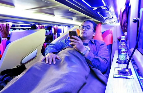 Tarif Sleeper Bus - mnews.id