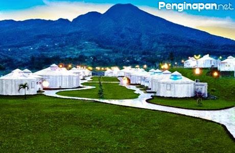 Penginapan Tenda Mewah Glamping Yang Nge Hits Di Bogor