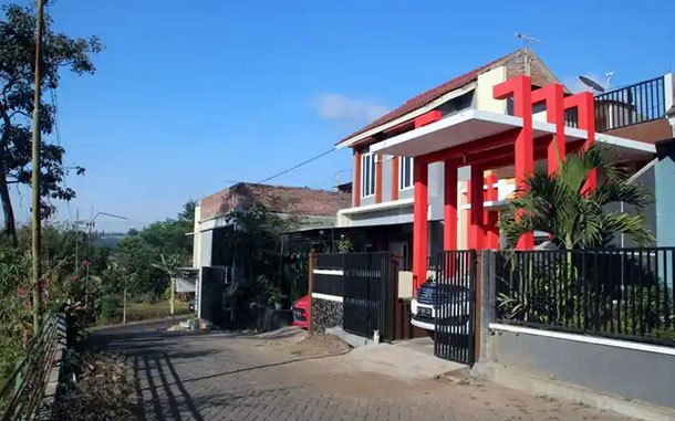 Lokasi Farbel House (sumber: traveloka)