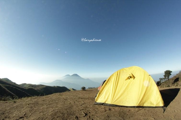 Camp Gunung prau dieng
