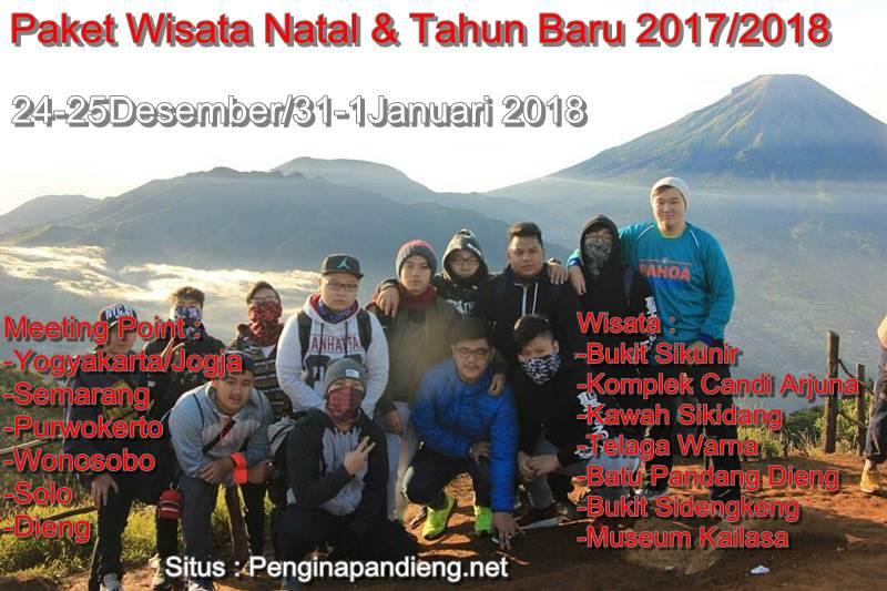 Paket Wisata Natal & Tahun Baru Dieng 2017/2018