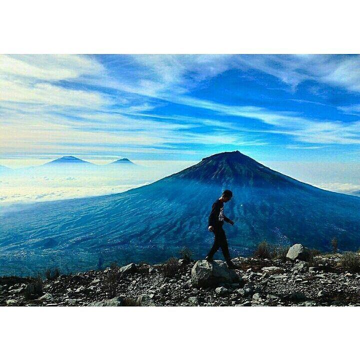 Gunung Sindoro wonosobo dieng