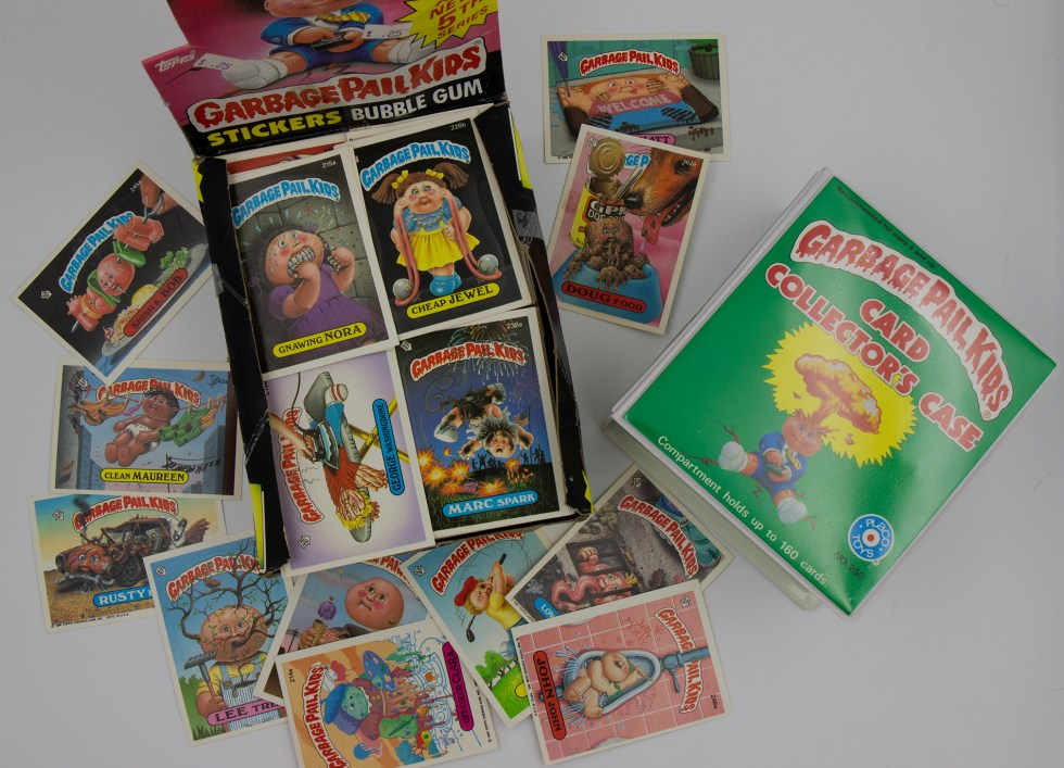 Garbage Pail Kids Card Collection