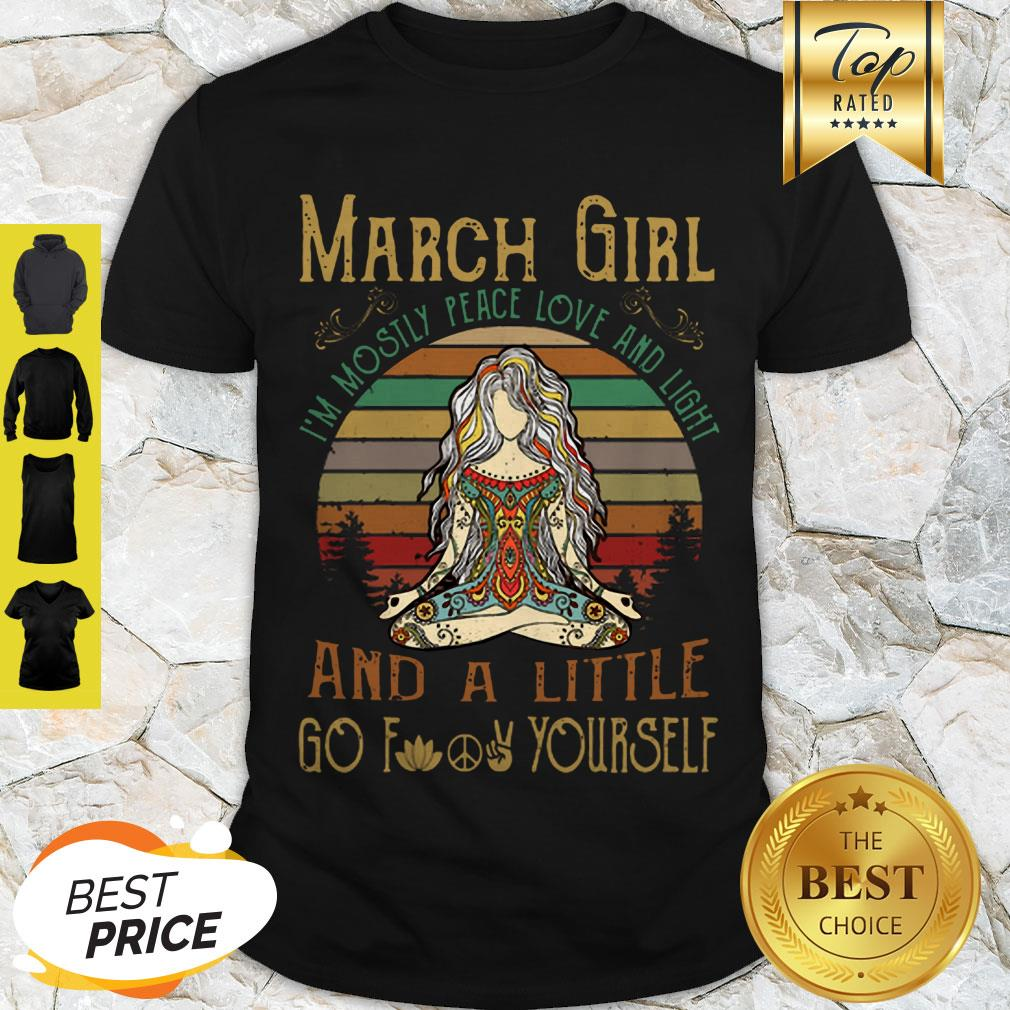 Download Yoga March Girl I'm Mostly Peace Love And Light And A ...