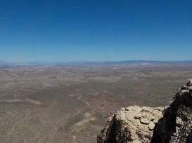 Vegas, far in the distance