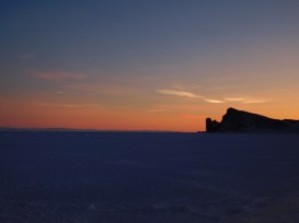 Out on the sea ice