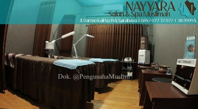 nayyara salon muslimah