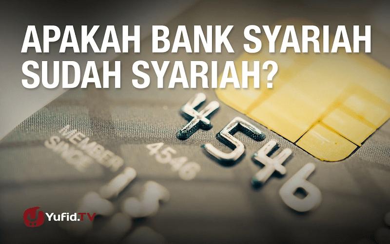 Kenapa Aku Resign Dari Bank Syariah-Kisah Mantan Karyawan Bank Syariah
