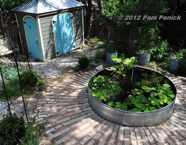 Ponds And Patios Are Made For Lazy Summer Days Digging