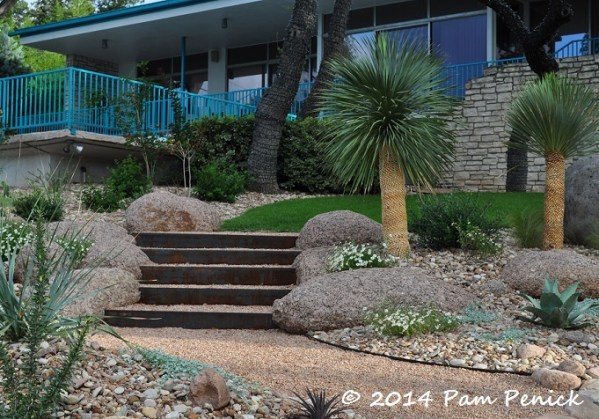 modern palm springs gardens Mid-century house inspires Palm Springs-style garden in