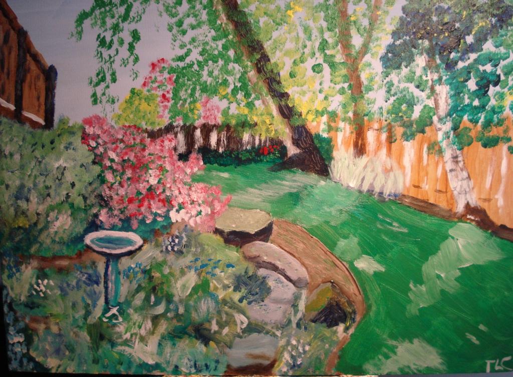 The garden in June  2