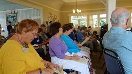 Members at July 2013 Meeting