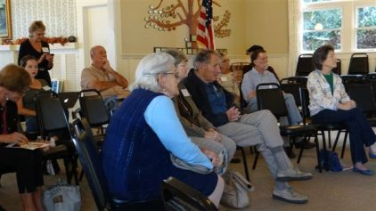 Members at Covering California with Obamacare October 2013 meeting