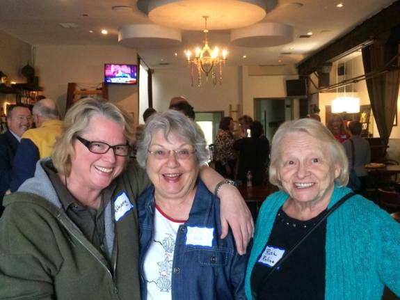 Bethany Butcher, Phyllis McGrath, Ruth Rollins